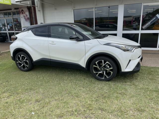 Used Toyota C-HR NGX10R Koba (2WD) Emerald, 2017 Toyota C-HR NGX10R Koba (2WD) Crystal Pearl Continuous Variable Wagon