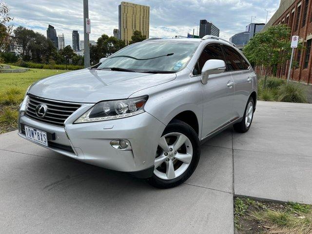 Used Lexus RX AGL10R MY12 RX270 South Melbourne, 2012 Lexus RX AGL10R MY12 RX270 Silver 6 Speed Sports Automatic Wagon