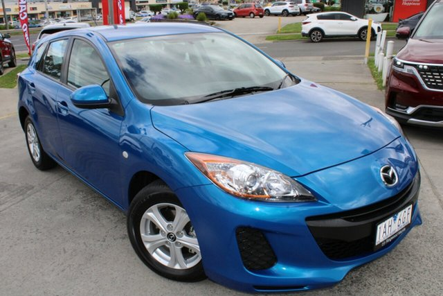 Used Mazda 3 BL10F2 MY13 Neo Activematic Ferntree Gully, 2013 Mazda 3 BL10F2 MY13 Neo Activematic Blue 5 Speed Sports Automatic Hatchback