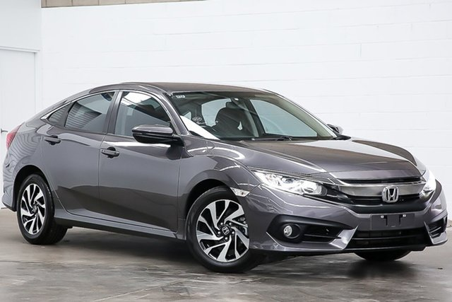 Used Honda Civic 10th Gen MY17 VTi-S Erina, 2017 Honda Civic 10th Gen MY17 VTi-S Grey 1 Speed Constant Variable Sedan