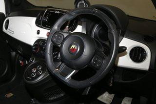 2017 Abarth 595 Series 4 Dualogic White 5 Speed Sports Automatic Single Clutch Hatchback