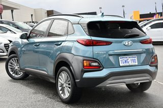 2019 Hyundai Kona OS.2 MY19 Elite 2WD Blue 6 Speed Sports Automatic Wagon.