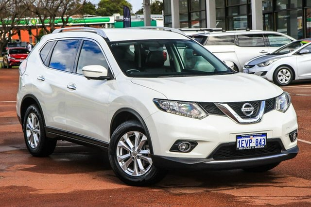 Used Nissan X-Trail T32 ST-L X-tronic 2WD Attadale, 2015 Nissan X-Trail T32 ST-L X-tronic 2WD White 7 Speed Constant Variable Wagon