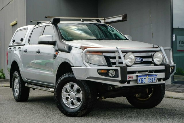Used Ford Ranger PX XLS Double Cab Osborne Park, 2013 Ford Ranger PX XLS Double Cab Silver Or Chrome/blank 6 Speed Manual Utility