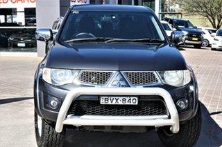 2011 Mitsubishi Triton MN MY12 GLX-R Double Cab Grey 5 Speed Manual Utility.