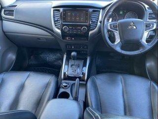 2018 Mitsubishi Triton Mitsubishi MQ Triton EXCEED 2.4L DID 5A/T 4X4 DC PU White 5 Speed Automatic