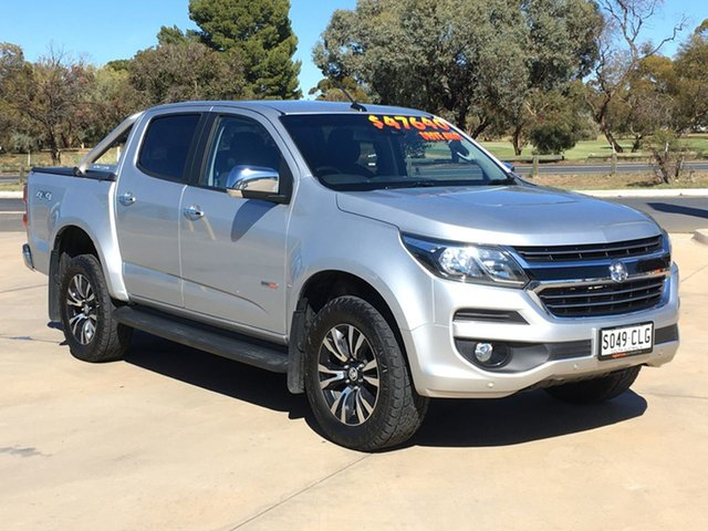 Used Holden Colorado RG MY20 LTZ Pickup Crew Cab Berri, 2019 Holden Colorado RG MY20 LTZ Pickup Crew Cab Silver 6 Speed Sports Automatic Utility