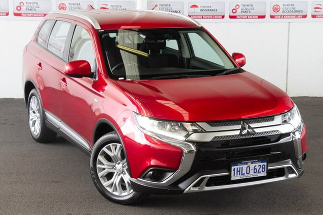 Pre-Owned Mitsubishi Outlander ZL MY19 ES 7 Seat (AWD) Rockingham, 2019 Mitsubishi Outlander ZL MY19 ES 7 Seat (AWD) Continuous Variable Wagon