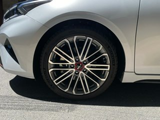 2021 Kia Cerato BD MY22 GT DCT Silky Silver 7 Speed Sports Automatic Dual Clutch Hatchback
