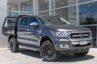 2017 Ford Ranger PX MkII XLT Double Cab Grey 6 Speed Manual Utility.