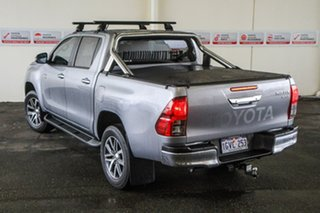 2019 Toyota Hilux GUN126R SR5 Double Cab Silver Sky 6 Speed Sports Automatic Utility
