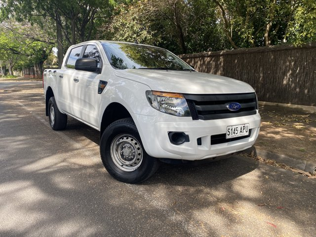 Pre-Owned Ford Ranger PX XL Hawthorn, 2012 Ford Ranger PX XL White 6 Speed Sports Automatic Utility