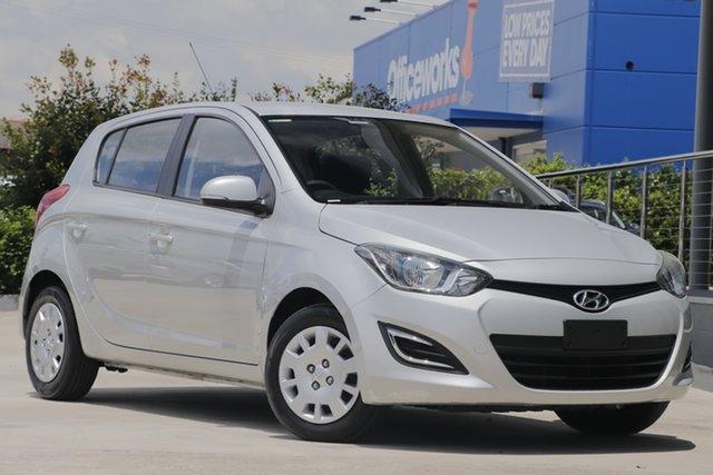 Used Hyundai i20 PB MY14 Active Aspley, 2014 Hyundai i20 PB MY14 Active Silver 4 Speed Automatic Hatchback