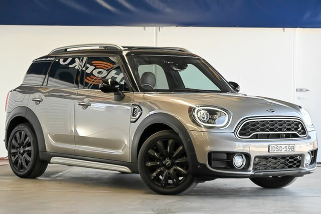 Used Mini Countryman F60 Cooper SD Steptronic ALL4 Laverton North, 2017 Mini Countryman F60 Cooper SD Steptronic ALL4 Silver 8 Speed Sports Automatic Wagon