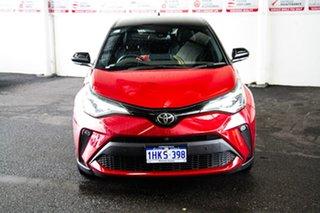 2020 Toyota C-HR NGX50R Koba S-CVT AWD Feverish Red & Black Roof 7 Speed Constant Variable Wagon.