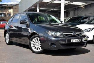 2010 Subaru Impreza G3 MY10 R AWD Grey 4 Speed Sports Automatic Hatchback.