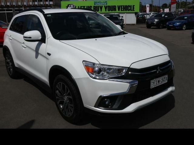 Used Mitsubishi ASX XC MY17 LS (2WD) Kingswood, 2017 Mitsubishi ASX XC MY17 LS (2WD) White Continuous Variable Wagon