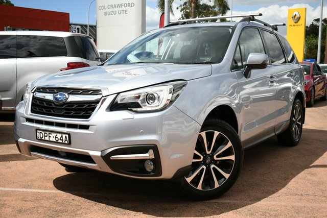 Used Subaru Forester MY16 2.5I-S Brookvale, 2017 Subaru Forester MY16 2.5I-S Silver Continuous Variable Wagon