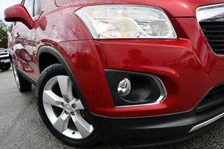 2014 Holden Trax TJ MY14 LTZ Red 6 Speed Automatic Wagon.