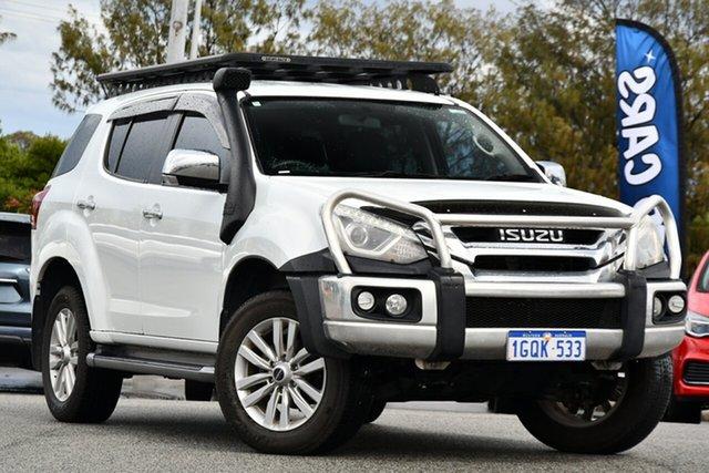 Used Isuzu MU-X MY18 LS-T Rev-Tronic Clarkson, 2018 Isuzu MU-X MY18 LS-T Rev-Tronic White 6 Speed Sports Automatic Wagon