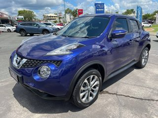 2015 Nissan Juke F15 Series 2 ST X-tronic 2WD Ink Blue 1 Speed Constant Variable Hatchback