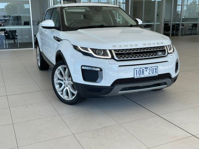 Used Land Rover Range Rover Evoque L538 MY17 TD4 150 SE Essendon Fields, 2017 Land Rover Range Rover Evoque L538 MY17 TD4 150 SE White 9 Speed Sports Automatic Wagon