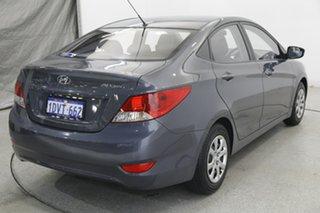 2012 Hyundai Accent RB Active Grey 5 Speed Manual Sedan