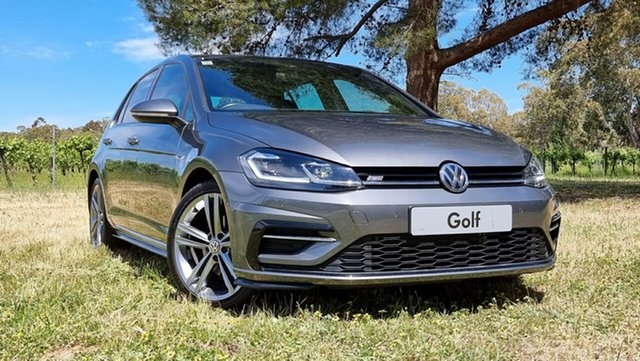 Used Volkswagen Golf 7.5 MY19.5 110TSI DSG Highline Nuriootpa, 2019 Volkswagen Golf 7.5 MY19.5 110TSI DSG Highline Indium Grey 7 Speed Sports Automatic Dual Clutch