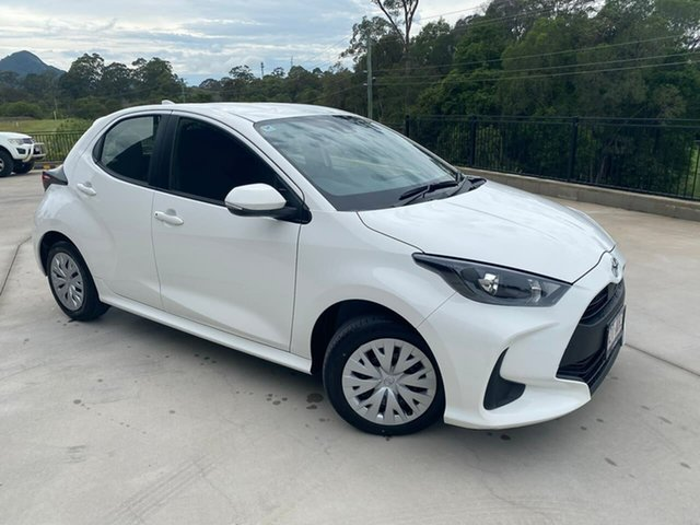 Used Toyota Yaris Mxpa10R Ascent Sport Cooroy, 2020 Toyota Yaris Mxpa10R Ascent Sport White 1 Speed Constant Variable Hatchback
