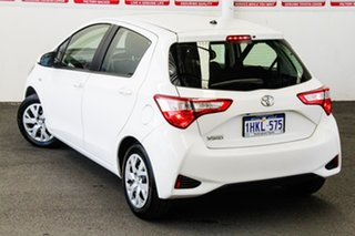 2017 Toyota Yaris NCP130R MY17 Ascent Glacier White 5 Speed Manual Hatchback