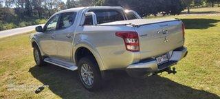 2018 Mitsubishi Triton MQ MY18 GLX Double Cab Silver 5 Speed Sports Automatic Utility