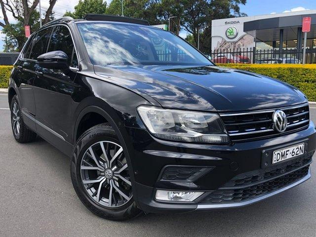 Used Volkswagen Tiguan 5N MY17 110TDI DSG 4MOTION Comfortline Botany, 2016 Volkswagen Tiguan 5N MY17 110TDI DSG 4MOTION Comfortline Black 7 Speed