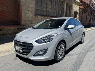 2016 Hyundai i30 GD4 Series II MY17 Active Platinum Silver 6 Speed Sports Automatic Hatchback.