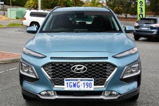 2019 Hyundai Kona OS.2 MY19 Elite 2WD Blue 6 Speed Sports Automatic Wagon