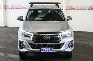 2019 Toyota Hilux GUN126R SR5 Double Cab Silver Sky 6 Speed Sports Automatic Utility.