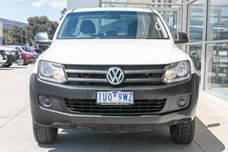 2014 Volkswagen Amarok 2H MY14 TDI420 4Motion Perm White 8 Speed Automatic Utility.