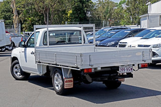 2009 Mazda BT-50 UNY0W4 DX 4x2 Cool White 5 Speed Manual Cab Chassis.