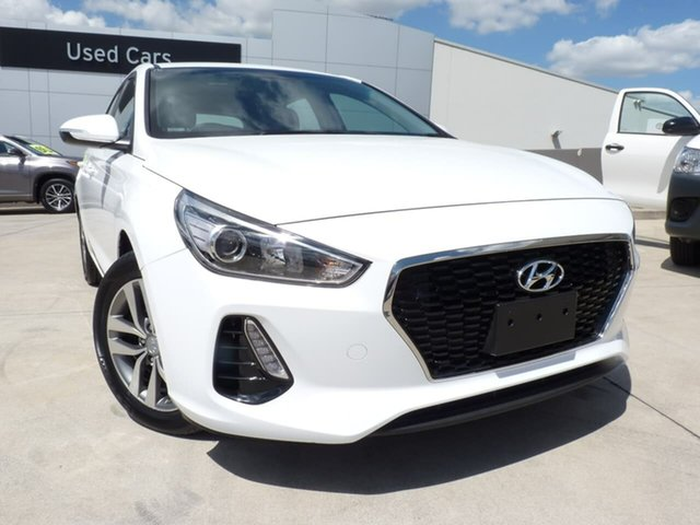 Pre-Owned Hyundai i30 PD2 MY20 Active Blacktown, 2019 Hyundai i30 PD2 MY20 Active Polar White 6 Speed Sports Automatic Hatchback