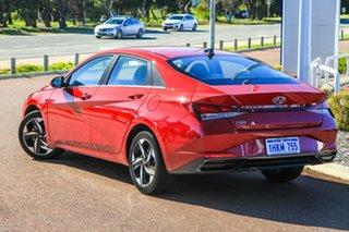 2020 Hyundai i30 CN7.V1 MY21 Elite Fiery Red 6 Speed Sports Automatic Sedan.