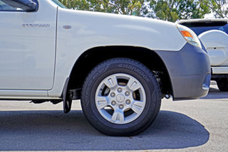 2009 Mazda BT-50 UNY0W4 DX 4x2 Cool White 5 Speed Manual Cab Chassis