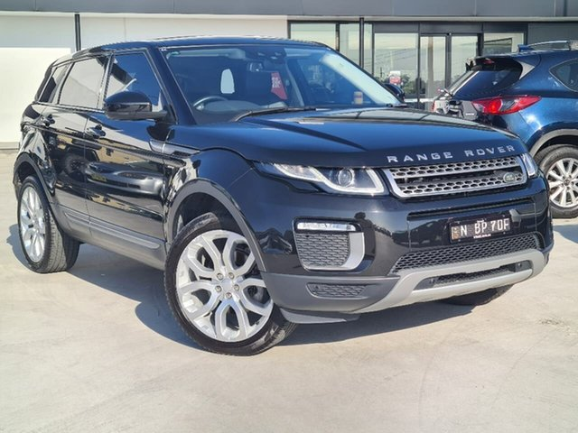 Used Land Rover Range Rover Evoque L538 MY16 SE Liverpool, 2015 Land Rover Range Rover Evoque L538 MY16 SE Black 9 Speed Sports Automatic Wagon