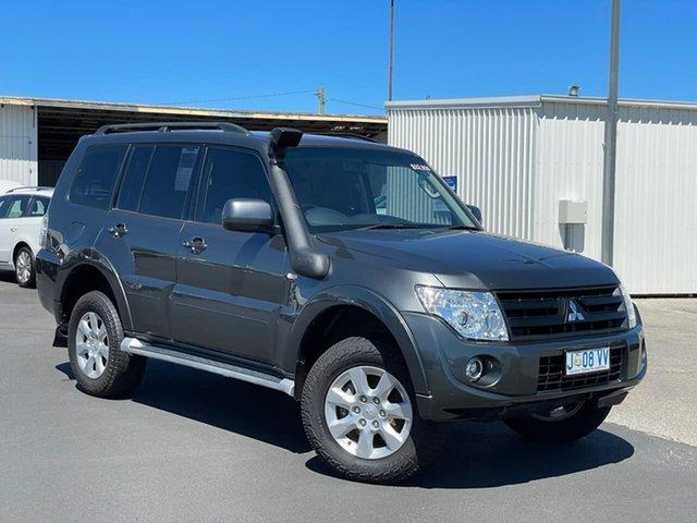 Used Mitsubishi Pajero NW MY14 GLX Moonah, 2013 Mitsubishi Pajero NW MY14 GLX Grey 5 Speed Sports Automatic Wagon