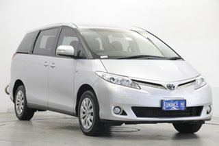 2015 Toyota Tarago ACR50R MY13 GLi Silver 7 Speed Constant Variable Wagon.