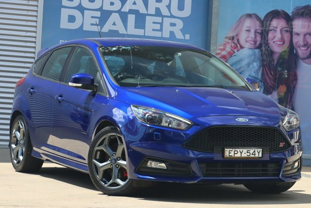 Used Ford Focus LZ ST2 Rosebery, 2018 Ford Focus LZ ST2 Blue 6 Speed Manual Hatchback