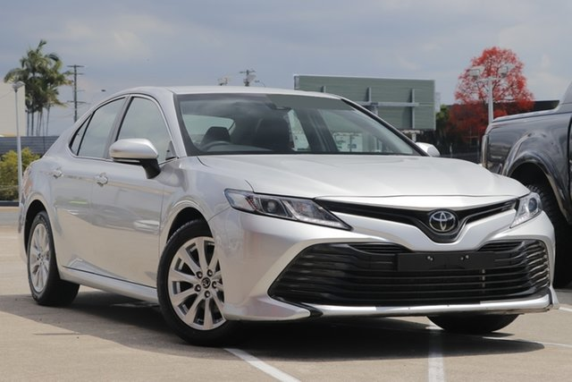Pre-Owned Toyota Camry ASV70R Ascent Albion, 2019 Toyota Camry ASV70R Ascent Silver 6 Speed Sports Automatic Sedan