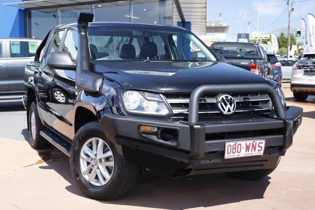 Used Volkswagen Amarok 2H MY16 TDI420 4MOTION Perm Core Toowoomba, 2015 Volkswagen Amarok 2H MY16 TDI420 4MOTION Perm Core Black 8 Speed Automatic Utility