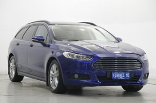 2016 Ford Mondeo MD Ambiente Deep Impact Blue 6 Speed Sports Automatic Dual Clutch Wagon