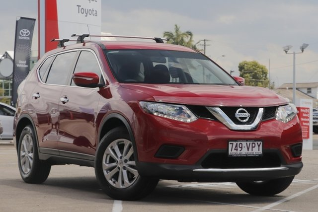 Pre-Owned Nissan X-Trail T32 ST X-tronic 2WD Albion, 2015 Nissan X-Trail T32 ST X-tronic 2WD Red 7 Speed Constant Variable Wagon