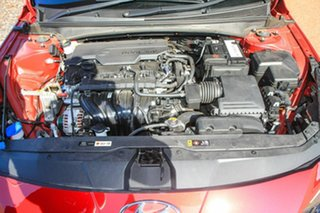2020 Hyundai i30 CN7.V1 MY21 Elite Fiery Red 6 Speed Sports Automatic Sedan