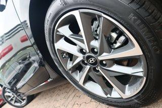 2021 Hyundai i30 PD.V4 MY21 Elite Phantom Black Pearl 6 Speed Sports Automatic Hatchback